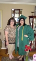 Adrianna and her mom, post-ceremony.