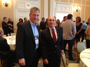 George and Paul at the 5th Annual Virginia Leadership Conference.