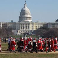 Santarchy, Washington, DC, Dec. 14