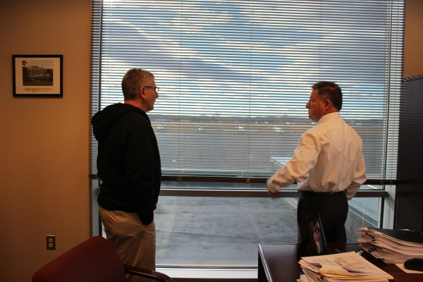 George Ellis and Juan Rivera Manassas Regional Airport