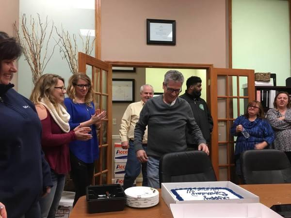 george-birthday-office-cake